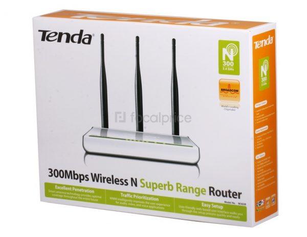 Hộp giấy đựng bộ phát wifi Tenda