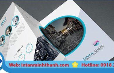 Dịch vụ in brochure hcm