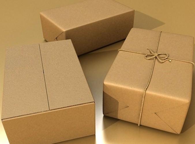 in thùng carton bưu điện