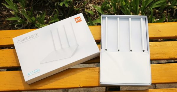 Hộp giấy đựng bộ phát wifi Xiaomi