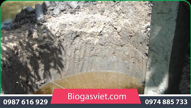 giá bán bể biogas composite